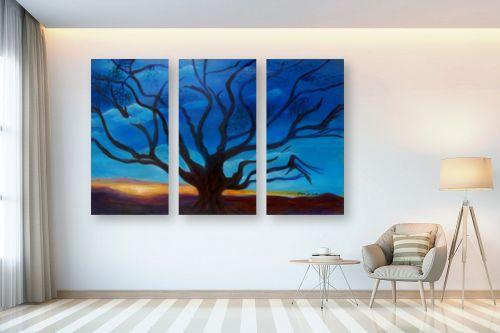 תמונה לבית - אסתר חן-ברזילי - כי האדם עץ השדה - מק''ט: 105585