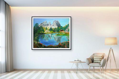 תמונה לבית - אסתר חן-ברזילי - נוף באוסטריה - מק''ט: 106966