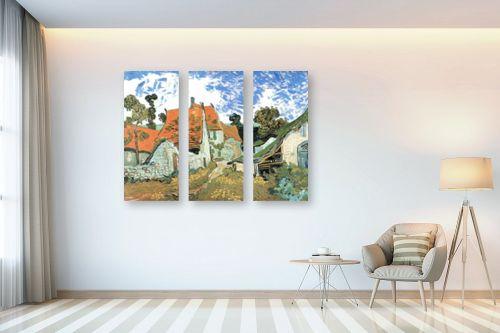 תמונה לבית - וינסנט ואן גוך - Village street in auvers - מק''ט: 115549