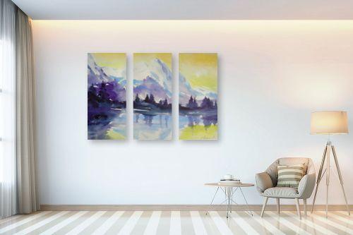 תמונה לבית - נטליה ברברניק - בוקר בהרים - מק''ט: 122121