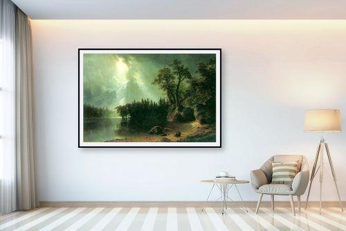 תמונה לבית - אלברט בירשטאדט - Albert Bierstadt 041 - מק''ט: 124643