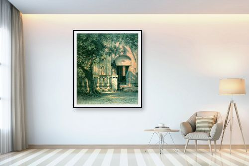 תמונה לבית - אלברט בירשטאדט - Albert Bierstadt 044 - מק''ט: 124646