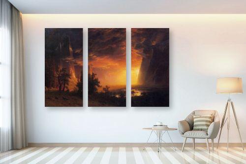 תמונה לבית - אלברט בירשטאדט - Albert Bierstadt 046 - מק''ט: 124649
