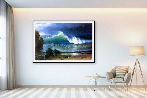 תמונה לבית - אלברט בירשטאדט - coast of the Turquoise se - מק''ט: 124652