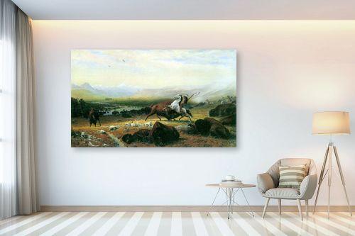 תמונה לבית - אלברט בירשטאדט - Albert Bierstadt 051 - מק''ט: 124654