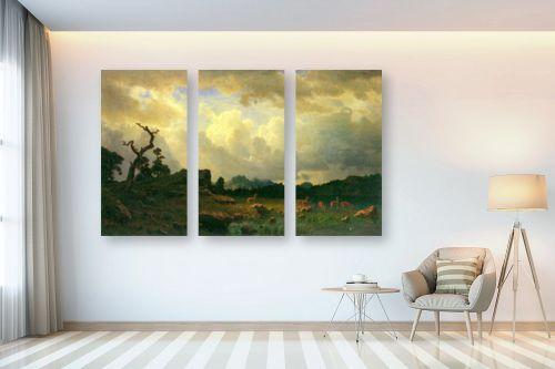 תמונה לבית - אלברט בירשטאדט - Albert Bierstadt 057 - מק''ט: 124662