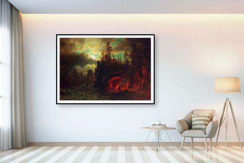 תמונה לבית - אלברט בירשטאדט - Albert Bierstadt 059 - מק''ט: 124665