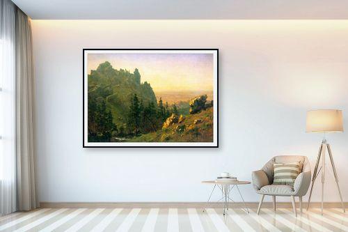 תמונה לבית - אלברט בירשטאדט - Albert Bierstadt 064 - מק''ט: 124671