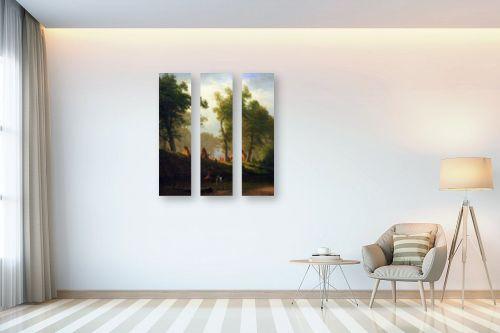 תמונה לבית - אלברט בירשטאדט - Albert Bierstadt 067 - מק''ט: 124676