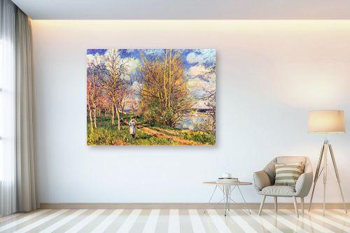תמונה לבית - אלפרד סיסלי - Alfred Sisley 014 - מק''ט: 124879