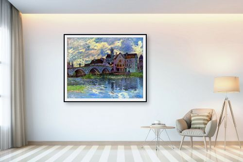 תמונה לבית - אלפרד סיסלי - Alfred Sisley 015 - מק''ט: 124880