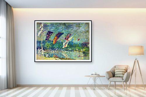 תמונה לבית - אלפרד סיסלי - Alfred Sisley 019 - מק''ט: 124884