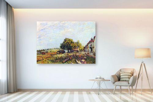 תמונה לבית - אלפרד סיסלי - Alfred Sisley 023 - מק''ט: 124890