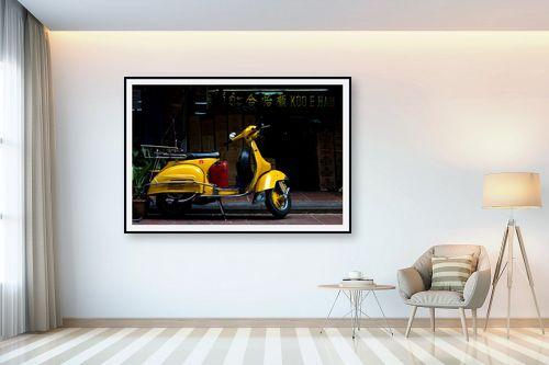 תמונה לבית - ניר אלון - וספה צהובה - מק''ט: 129156