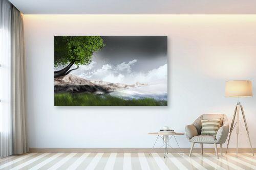 תמונה לבית - Red סטודיו - mountains - מק''ט: 132115