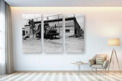 תמונה לבית - דוד לסלו סקלי - אשדות יעקב 1947 משאית - מק''ט: 142634
