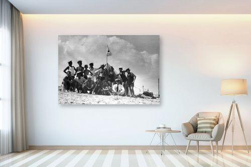 תמונה לבית - דוד לסלו סקלי - תל אביב 1939 קבוצת צופים - מק''ט: 143200