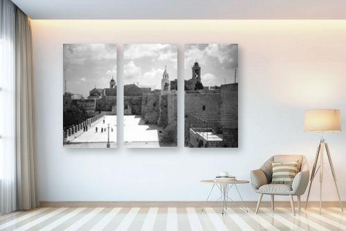 תמונה לבית - דוד לסלו סקלי - כנסיית המולד בבית לחם - מק''ט: 144215