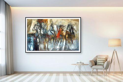 תמונה לבית - בן רוטמן - מירוץ סוסים - מק''ט: 144916