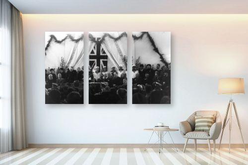 תמונה לבית - דוד לסלו סקלי - תל אביב 1937 חנוכת הנמל - מק''ט: 145935