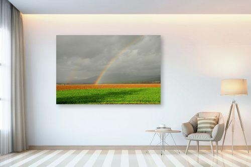 תמונה לבית - אייל הצפון - קשת בשדה ירוק - מק''ט: 155960
