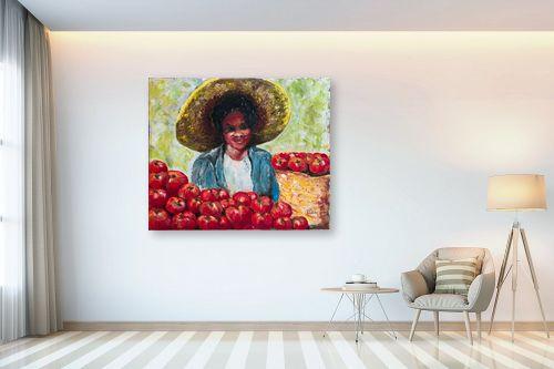 תמונה לבית - שולי חיימזון - מוכרת העגבניות - מק''ט: 158547