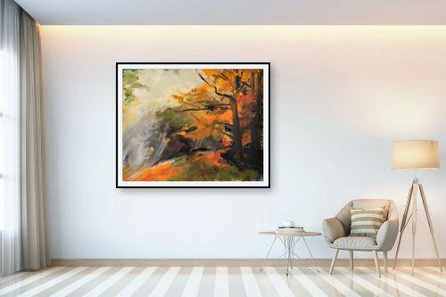 תמונה לבית - חגי עמנואל - יער כתום - מק''ט: 164015
