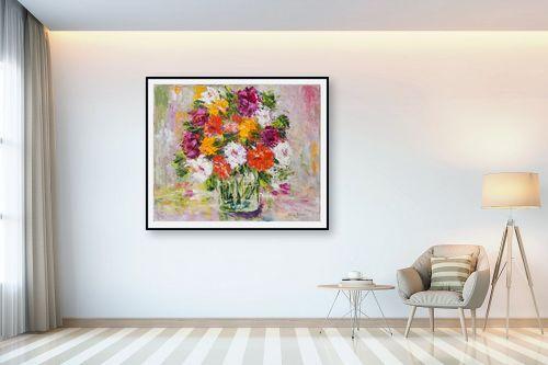 תמונה לבית - שולי חיימזון - פרחים - מק''ט: 174952