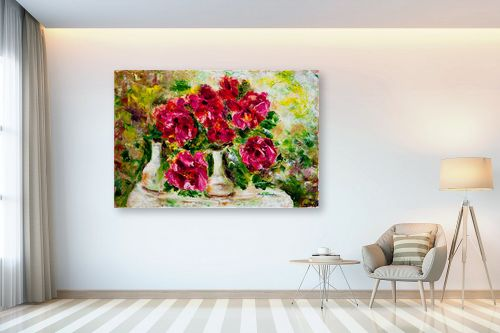 תמונה לבית - שולי חיימזון - פרחים - מק''ט: 180877