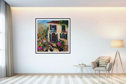 תמונה לבית - רוחלה פליישר - בית הפרחים - מק''ט: 181113