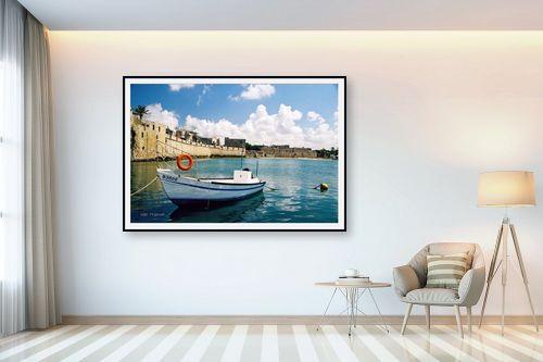 תמונה לבית - קובי פרידמן - סירה בעכו - מק''ט: 19661