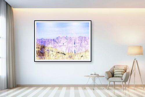 תמונה לבית - רוזה לשצ'ינסקי - נוף כחול - מק''ט: 203686