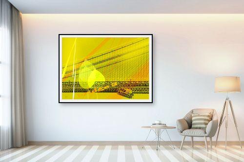 תמונה לבית - רוזה לשצ'ינסקי - גשר צהוב - מק''ט: 203851