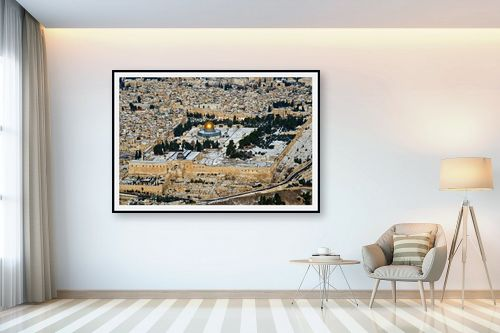 תמונה לבית - ארי בלטינשטר - ירושליים של זהב ושלג - מק''ט: 217034