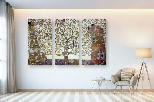 תמונה לבית - גוסטב קלימט - עץ החיים tree of life - מק''ט: 226225