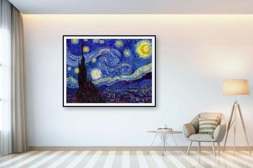 תמונה לבית - וינסנט ואן גוך - ליל כוכבים Starry night - מק''ט: 226244