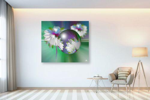 תמונה לבית - ויקטוריה רייגירה - כדור פרחוני - מק''ט: 230057