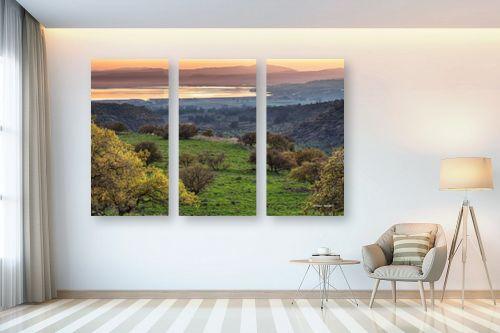 תמונה לבית - מיכאל שמידט - הטבע בצבעי פסטל - מק''ט: 230117
