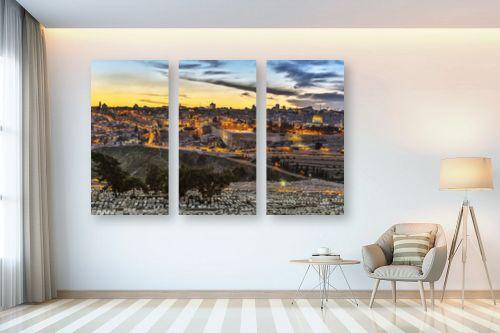 תמונה לבית - מיכאל שמידט - ירושלים של זהב - מק''ט: 230393