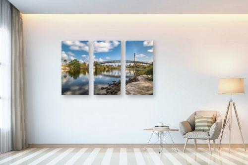 תמונה לבית - מיכאל שמידט - גשר הירקון - מק''ט: 230909