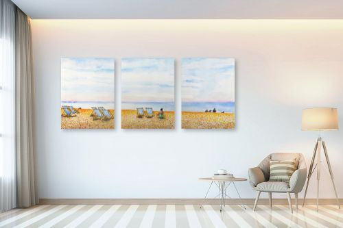 תמונה לבית - חיה וייט - חוף ים בברייטון - מק''ט: 234414