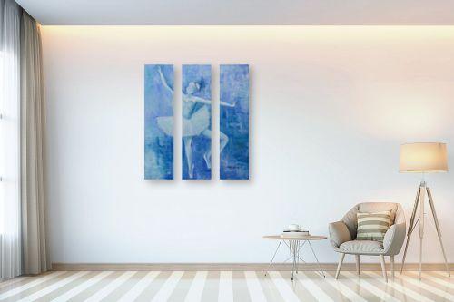 תמונה לבית - שרה וולקוב - בלט בכחול - מק''ט: 236201