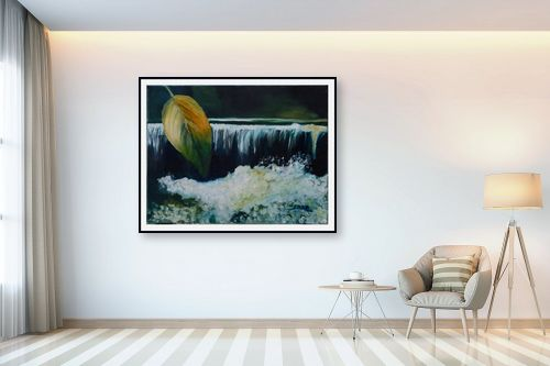 תמונה לבית - שרה וולקוב - על יד מפל מים - מק''ט: 236310