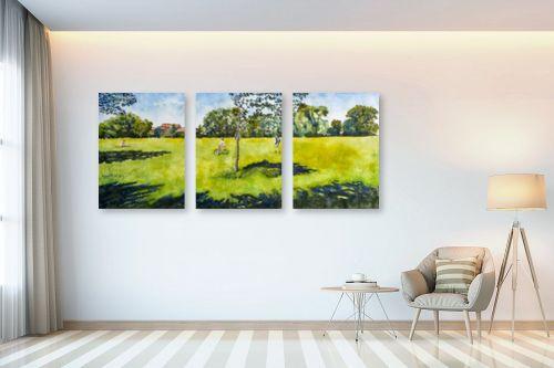 תמונה לבית - חיה וייט - עצים וצללים - מק''ט: 236681