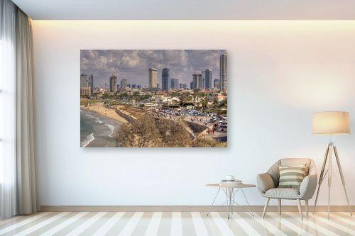 תמונה לבית - אורי ברוך - חוף תל אביב - מק''ט: 239238