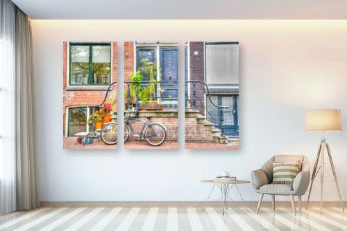 תמונה לבית - אורי ברוך - מדרכות אמסטרדם - מק''ט: 244556