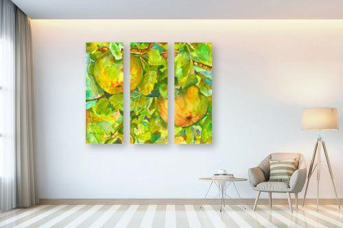תמונה לבית - חיה וייט - שני תפוחים - מק''ט: 246066