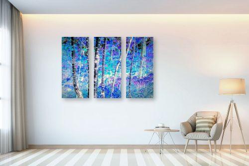 תמונה לבית - שולי חיימזון - היער הכחול - מק''ט: 246413