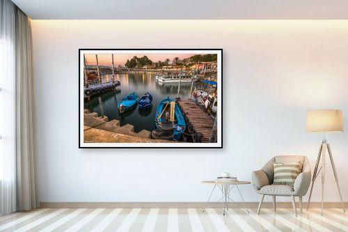 תמונה לבית - מיכאל שמידט - נמל עין גב - מק''ט: 248101