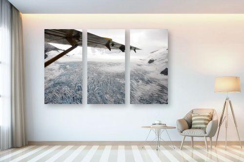 תמונה לבית - ענת שיוביץ - קרחון עד ממעוף הציפור - מק''ט: 248964
